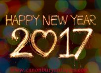 Cheers and Happy New Year from Canonbury Antiques